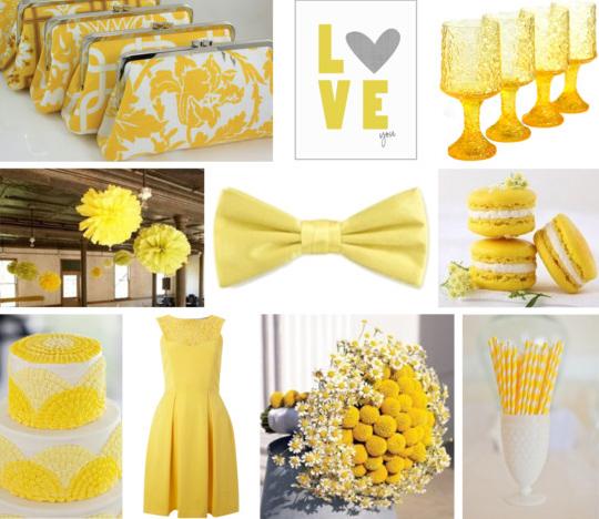 yellow wedding 2
