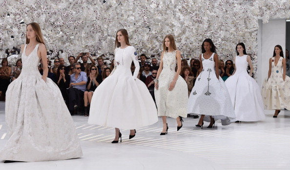 Christian Dior: Runway - Paris Fashion Week : Haute-Couture Fall/Winter 2014-2015