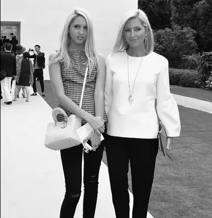 Princesa Maria Olympia e Princesa Princess Marie Chantal, da Grécia dior