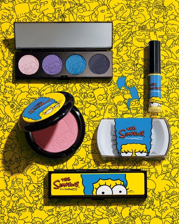 simpsons make up mac
