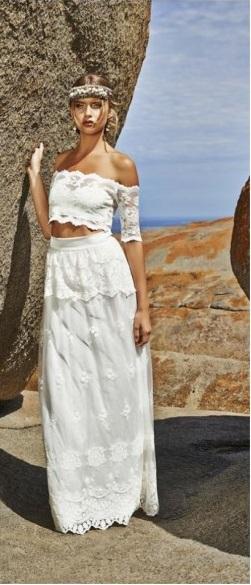 abito da sposa due pezzi 3