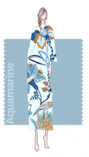 colore pantone primavera 2015 acquamarine