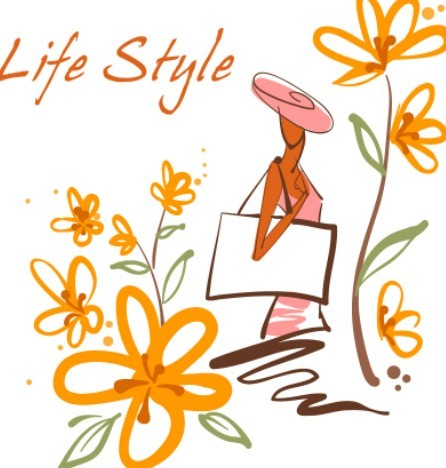 Fashion-Hand-Drawn-Vector-Spring-Girl-04