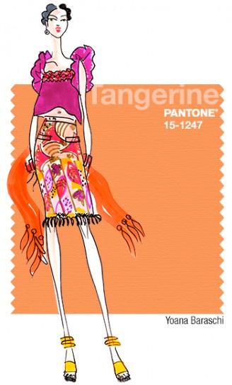 tangerine colore pantone primavera 2015