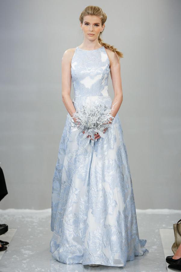 abito da sposa disney frozen