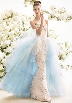 abito da sposa oscar de la renta