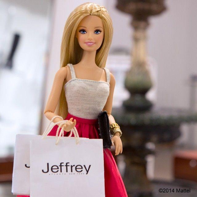 barbie shopping instargam