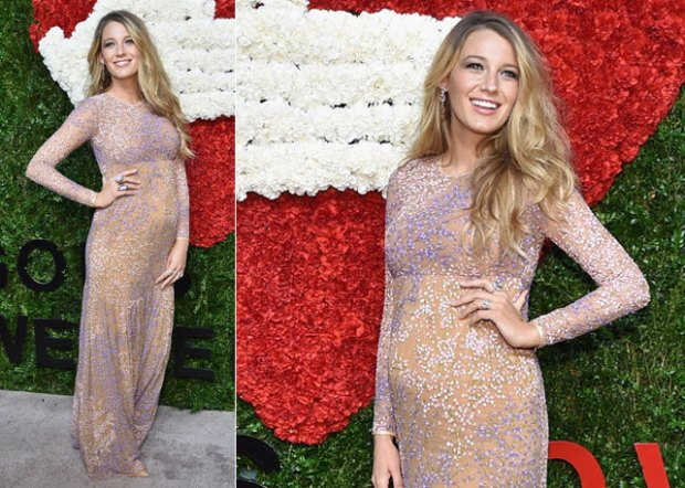 blake lively gravidanza al red carpet