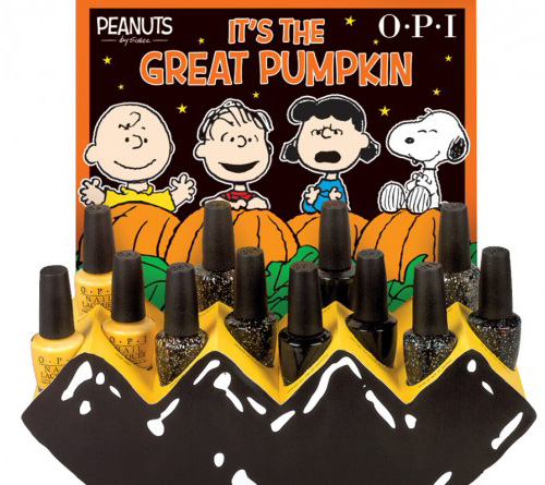 OPI Peanuts Halloween 2014