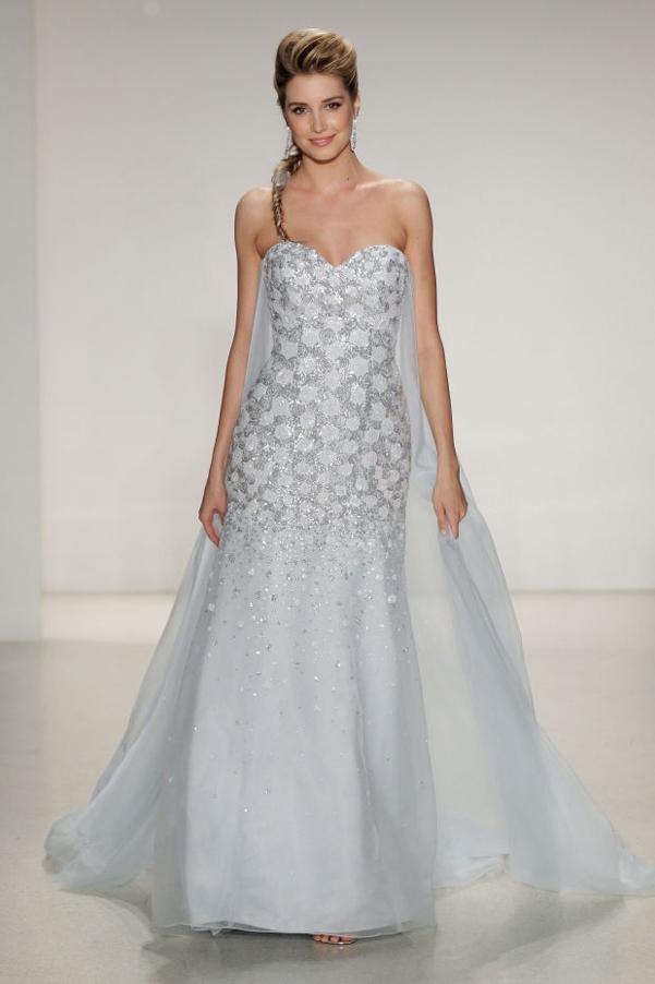 wedding dress elsa frozen