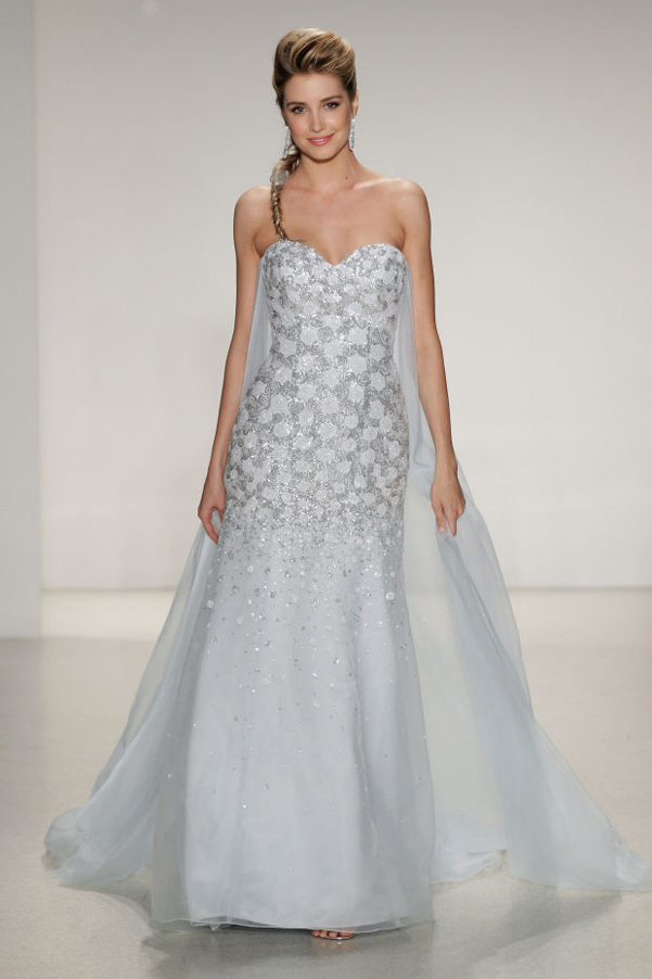 wedding dress elsa frozen