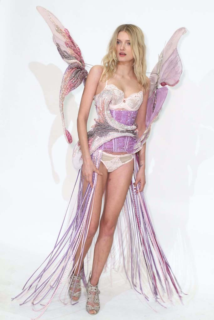 lily donaldson victoria's secret fashion show 2014