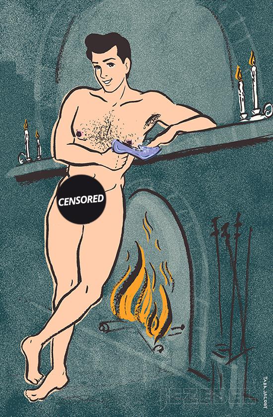 principe disney cenerentola nudo
