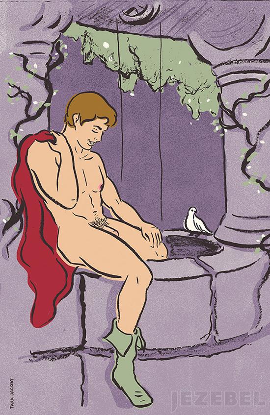principe disney nudo