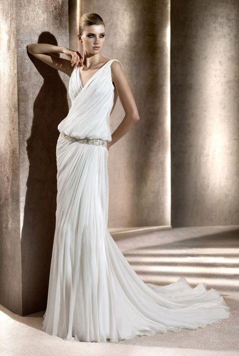 abito sposa stile greco romano