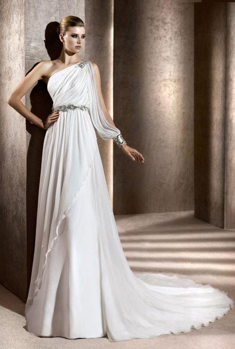 abito sposa tipo greco
