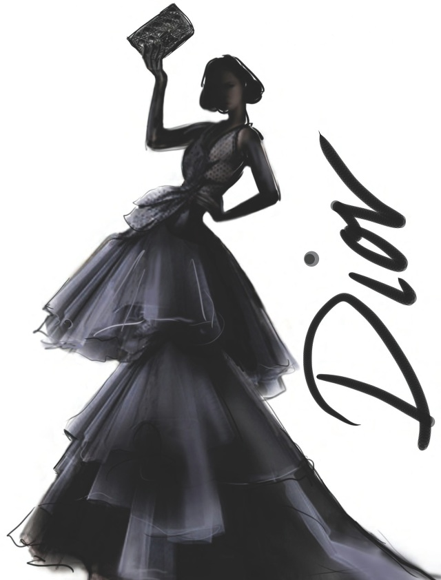 DIOR ILLUSTRATION
