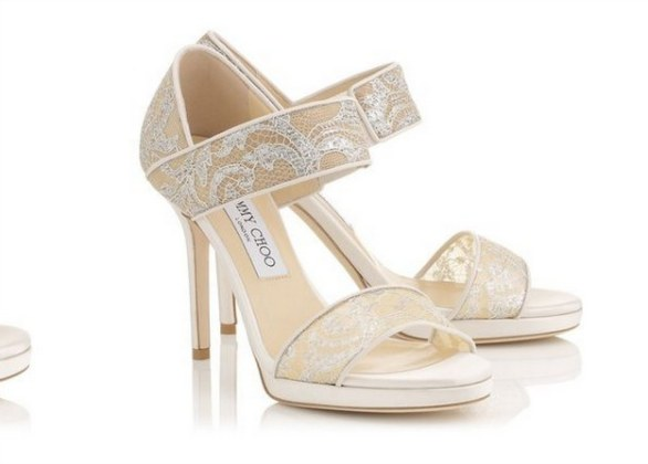 jimmy choo scarpe sposa 2015