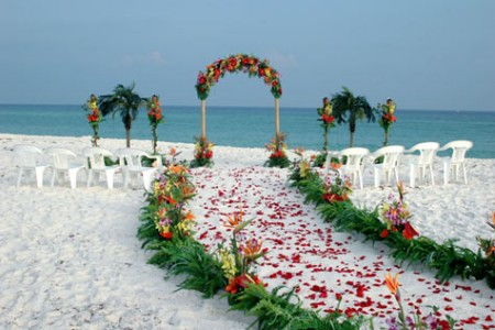 wedding sea