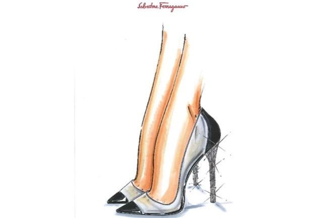ferragamo shoes cenerentola 2015