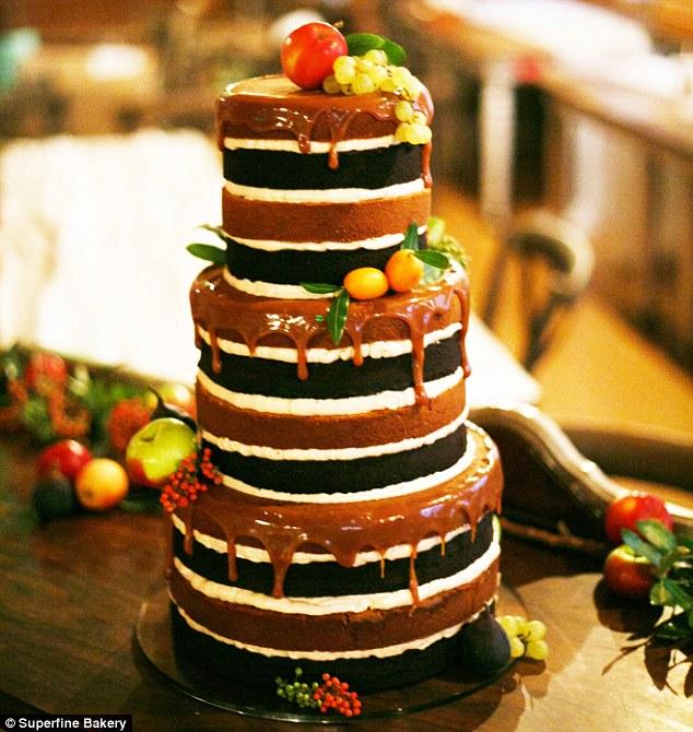 weddin nude cake