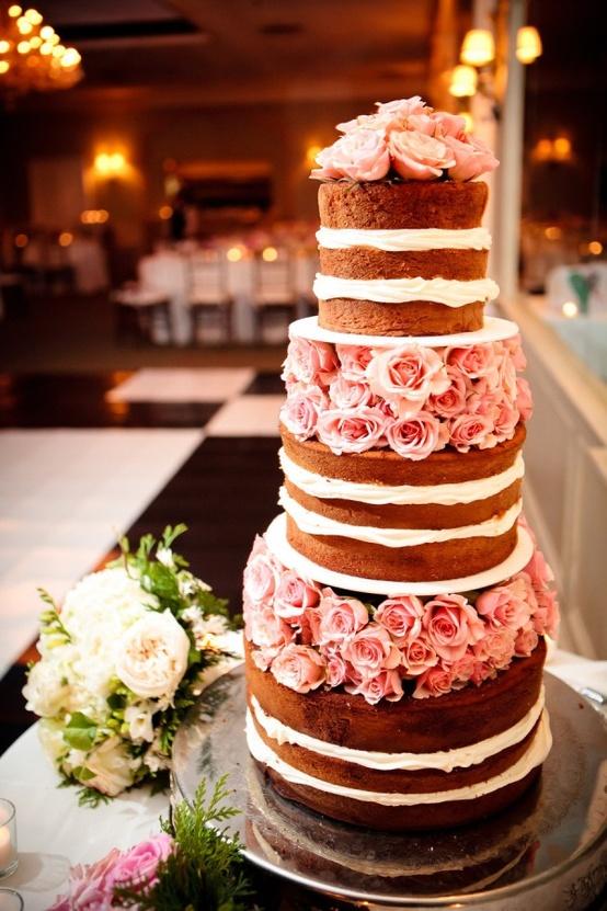 wedding nude cake 2
