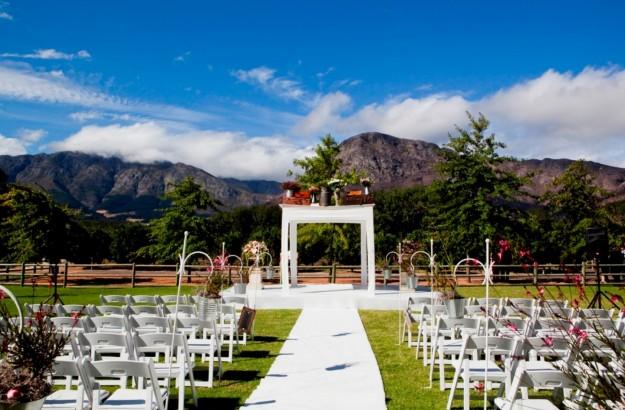L altare della sposa fashioniamoci - Matrimonio in giardino ...