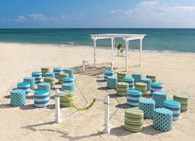 altare matrimonio in spiaggia