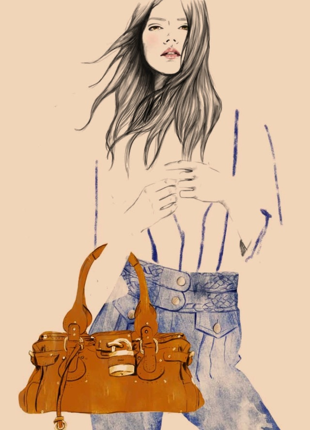 BAGS ILLUSTRATION