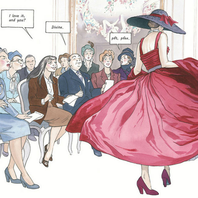 girl in dior vignetta
