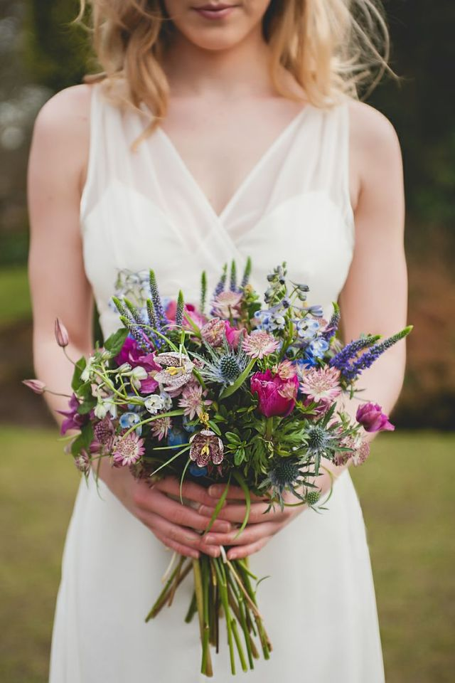 bouquet con lavanda