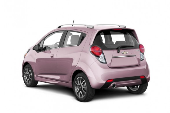 Chevrolet-Spark-pink-lady
