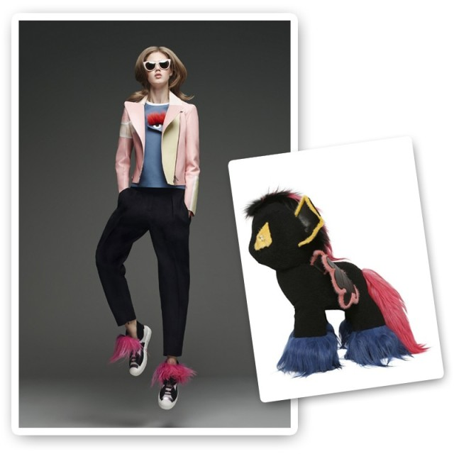 fendi little pony