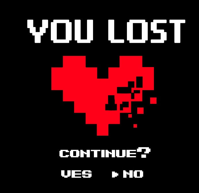 GAME OVER LOVE