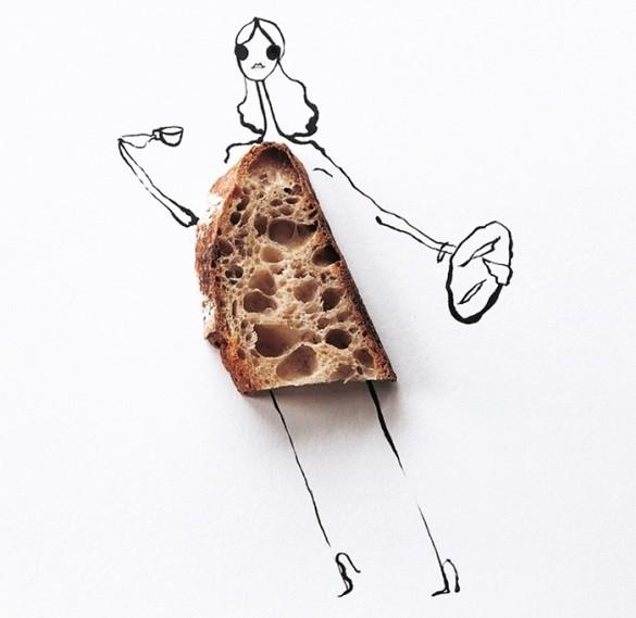 Gretchen Röehrs food illustration