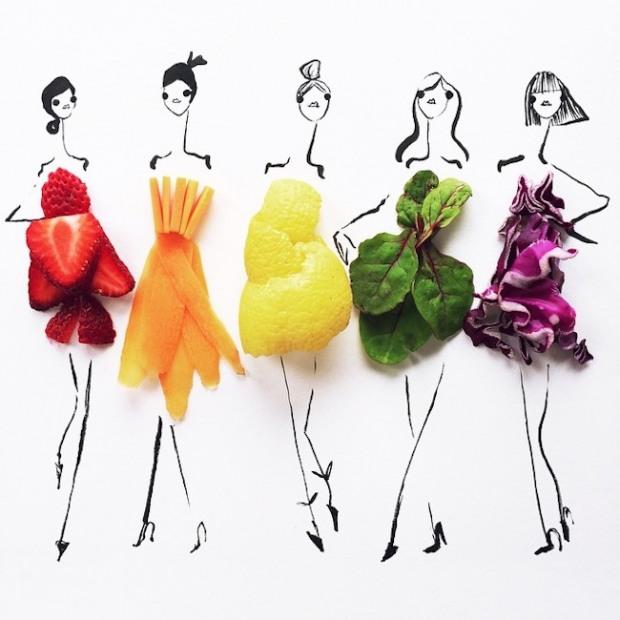 Gretchen Röehrs fruti illustration