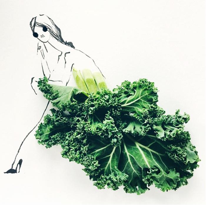 illustration food