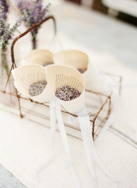 petali di lavanda matrimonio