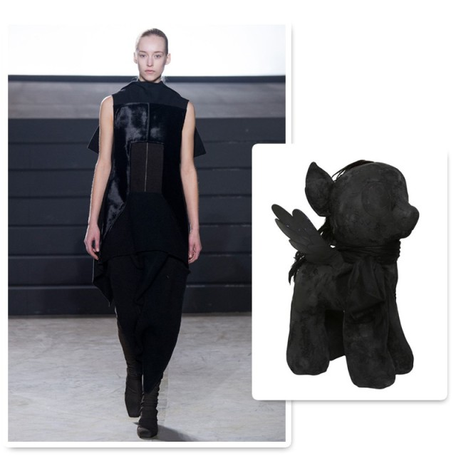 rick owens little pony