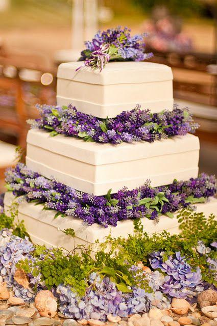 wedding cake lavanda