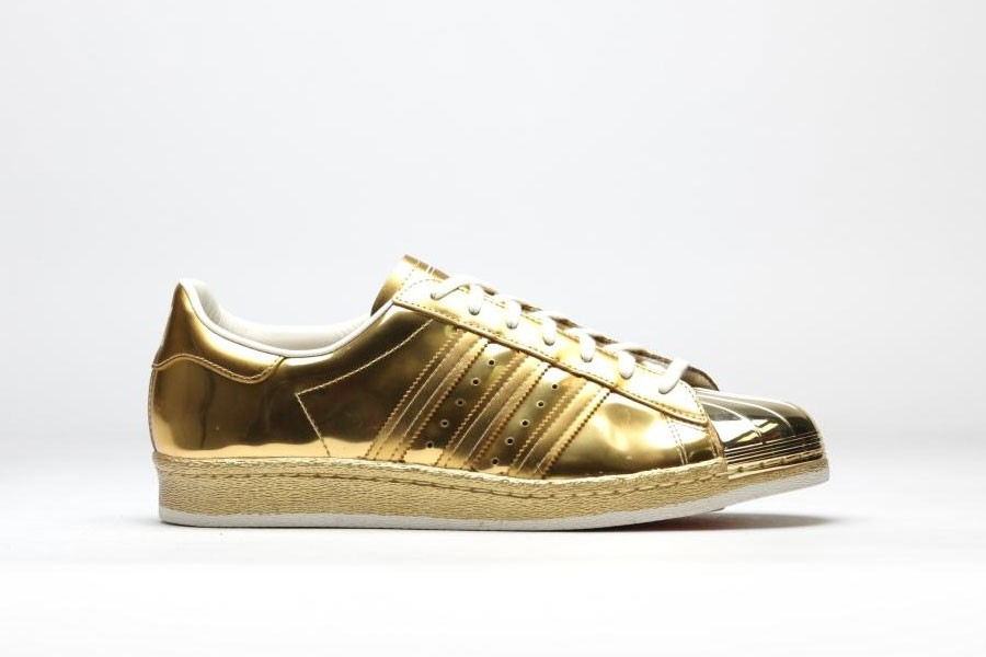 scarpe adidas superstar dorate