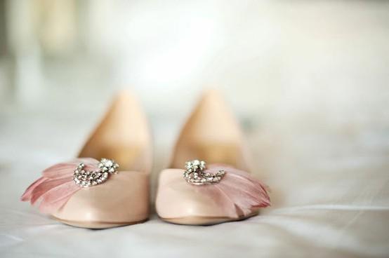 wedding flat pink