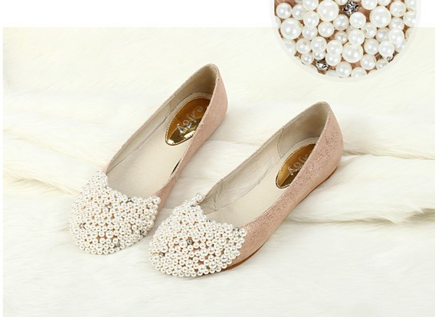 wedding shoes flat clour
