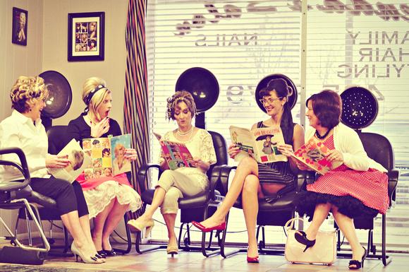 donne dal parrucchiere