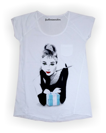 t-shirt fashioniamoci audrey's dream