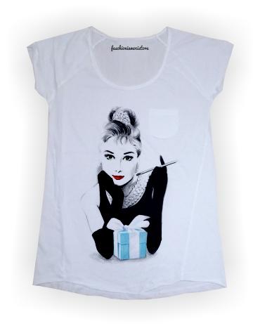 t-shirt fashioniamoci audrey's dream