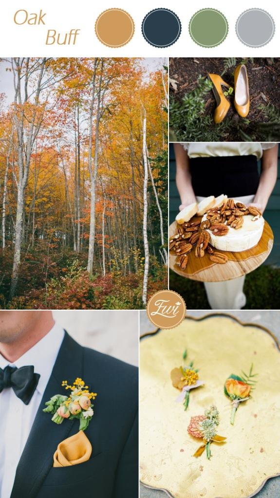 WEDDING - 2015- OAK-BUFF- PANTONE