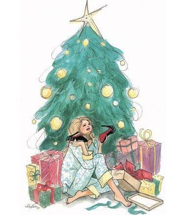 fashion-chirstmas-illustration
