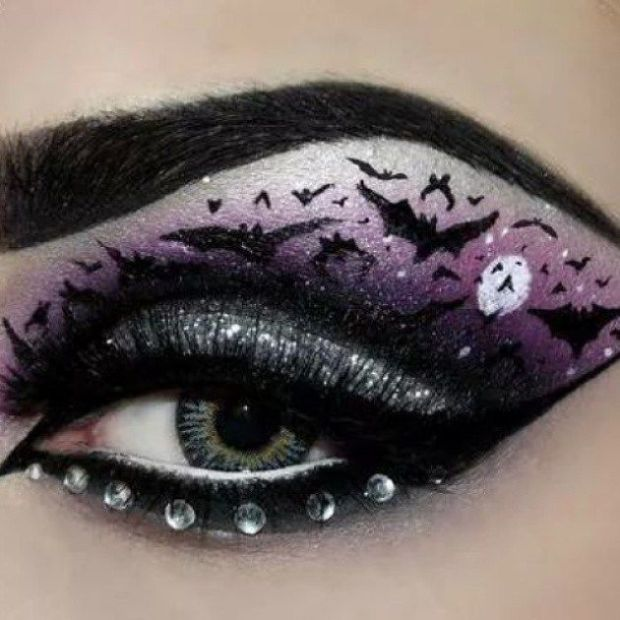 halloween-2015-fashion-,ake up