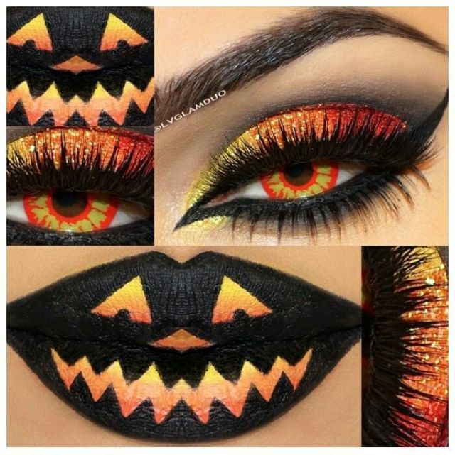 halloween-2015-trucco-occhi-zucca